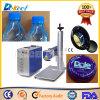 Машина отметки лазера СО2 Китая портативная для цены бутылки напитка