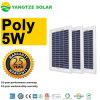 장식적인 관례 모양 DIY 태양 전지판 5W 5V
