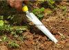 Ergo de Troffel van de Plantmachine van de Schop van het Handvat van het Hulpmiddel van de Tuin van de Troffel met Ergonomisch Handvat van de Inlandse Hulpmiddelen van de Tuin; Het op zwaar werk berekende Opgepoetste Blad van het Roestvrij staal