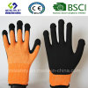 Покрытие нитрила, перчатки работы безопасности отделки Sandy (SL-NS118)