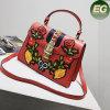 Neue Entwurfs-Dame-Handtaschen-Stickerei-Blumen-Form-modischer Schulter-Beutel für Frau Sy8140
