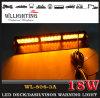 Indicatori luminosi di precipitare ambrati del parabrezza LED della polizia di colore