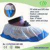 Cubierta anti azul y blanca del zapato del salto del CPE