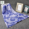 Dickflüssiger Schal-blaue und weiße Phoenix gedruckte Dame Fashion Scarf