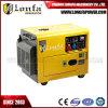 5kVA/ 6kVA tipo silencioso Generador Diesel con EDTA opcional