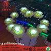 Напольные света для сада, венчание цветка СИД, украшение партии