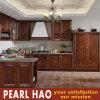 Американский самомоднейший шкаф мебели кухни твердой древесины MDF