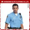 2017 preiswerte Großhandelsmann-hellblauer weißer Zoll wir Polizei-Hemd (ELTHVJ-287)