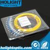 Tresse de fibre de mode unitaire de LC
