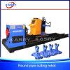 3 Mittellinie CNC-Plasma-Rohr-Scherblock, Stahlrohr-Ausschnitt-Maschine