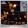 LEDの太陽通りの装飾のお祝いのクリスマスのポール・ライト