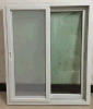 PVC/UPVC schiebendes Fenster mit Bildschirm-Netz mit Griff (ZXJH0008)