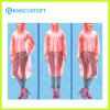 Emergency Disposable Pink PET Raincoat mit Elastic Sleeve