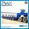 Multi-Axle Hochleistungshydraulic Truck Trailer/15 Axis Modular Trailer mit Power Gooseneck