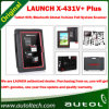 Lançamento original X431 V+ X431 Update Online/WiFi Ferramenta Diagnostc veicular Bluetooth X-431 V+ X-431 V+