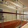 Decoração de escada moderna Crystal Stars Curtain