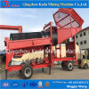 Tela de lavagem do Trommel do ouro profissional do equipamento da limpeza de minério