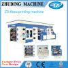 Nieuwe ModelPLC van de Aandrijving van de ServoMotor Controle 8 Machine van de Druk van Kleuren Flexographic