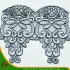 2016 nouveau Design Embroidery Lace sur Organza (HD-026)