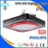 LED alta Bahía luminaria, lámpara al aire libre del LED