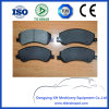 Ford Semi-Metallic керамики нет шума высокой производительности тормозные колодки Gdb1724