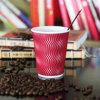 Tazas de café de las tazas de papel