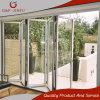 Puerta de desplazamiento de aluminio del patio con funciones impermeables fuertes