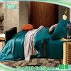 Assestamento blu della regina di alta qualità su ordinazione di lusso