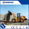 MinidieBackhoe van Lovol FL955f van Foton Lader in China wordt gebruikt