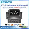 Stereo автомобильного радиоприемника Zestech 2 DIN для системы навигации Megane II/Megena III GPS