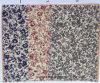 Tela pequena da gravata do teste padrão de flores da impressão do algodão