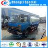 트럭이 Donfeng 4X2 8000-15000liters 윤활유 기름 연료 탱크 가솔린 수송 트럭 연료 탱크 트럭에 의하여 급유한다