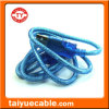 투명한 파랑 USB 기준 2.0 인쇄 기계 케이블