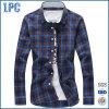 Großhandelsmann-verursachende Plaid-Hemden mit langer Hülse