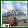 Prefabricados pesada estructura metálica grande edificio de acero