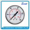 Baja Presión conexión del manómetro de aceite Manomtre-latón Indicador de presión del cuerpo