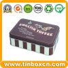 Plätzchen-Zinn, Biskuit-Zinn, Imbiss-Zinn, Nahrungsmittelzinn-Kasten, Blechdose, Metallkasten-Verpacken