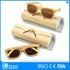 Ultimi occhiali da sole di bambù polarizzati di modello della montatura per occhiali con il caso