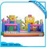 Château sautant de thème géant de Simpson de bâche de protection de PVC de Lilytoys avec la glissière (Lilytoys-New-026)