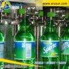 Máquina de rellenar líquida de la botella carbónica de la bebida
