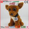 Brinquedo de cachorro de pelúcia com recheio personalizado