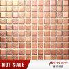 Mattonelle di mosaico di ceramica di colore 25X25 dell'oro della Rosa per la caffetteria