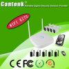 Onvif 4CH 1MP/720p 4CH DVR/NVR WiFi IP-Installationssätze (WIFIPGE420RH100)