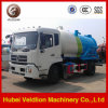 Dongfeng 10, 000 litros de aguas residuales de aspiración Camión Cisterna