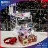 2016大きいサイズの装飾的な製品のためのアクリルの構成のオルガナイザーのディスプレイ・ケース
