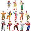 Disfraces de Halloween para adultos Payasos Clown vistiendo trajes, prendas de vestir, ropa de la fase de magia, disfraces