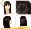 Полный парик шнурка выдвижения волос девственницы