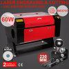 Máquina de gravura do gravador do cortador do laser do CO2 de Vevor 60W enviada do armazém da UE