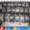 Rodas de grua de aço fundido de alta qualidade para uso industrial