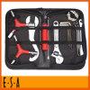 2015 nuevo kit de herramienta portable de la reparación de la bicicleta, sistema de herramienta de la bicicleta de la profesión 12PCS, herramienta al aire libre T18b007 de la reparación de la bicicleta de la emergencia multi